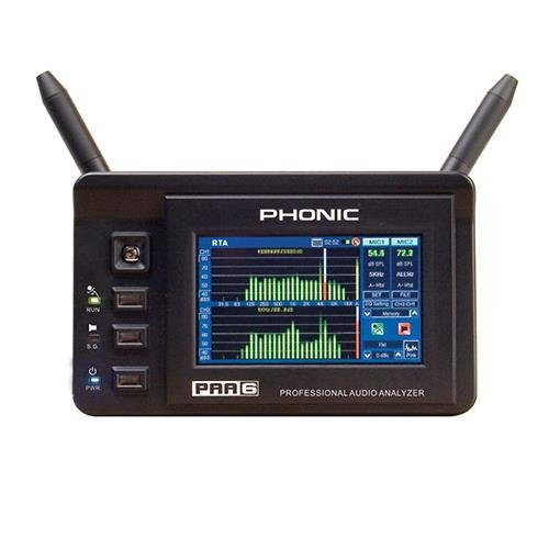 - Phonic Audio Analyzer (PAA6)