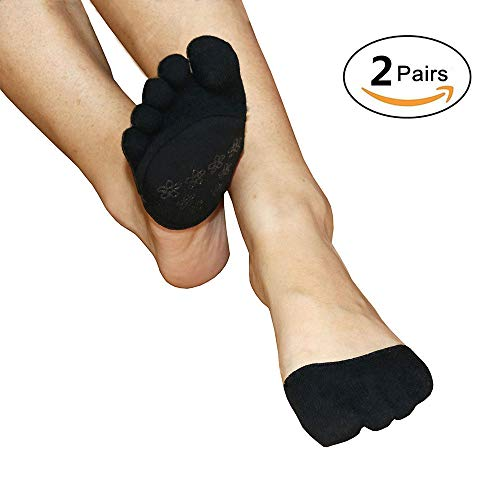 Closed Toe Socks No Show for Sandals High Heel Relief Blister Harm Pain for Hammer Toes,Corns and Blister,Ball of Foot Cushions for High Heel Pumps Sandals