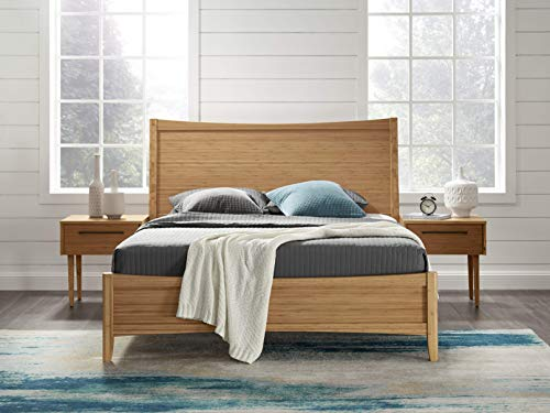 Eco Ridge ECO01CA Willow Bamboo Platform Bed, Queen, Caramelized (Bed Bamboo Frame)