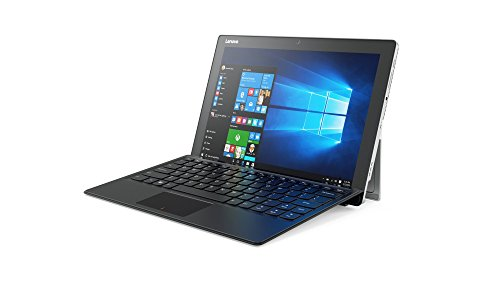 Lenovo Miix 510 30,99cm (12,2 Zoll FHD) Windows Tablet-PC (Intel Core i5-6200U, 2,8GHz, 8GB RAM, 256GB SSD, Intel HD Grafik 520, Touch, Dolby Sound, Windows 10) silber inkl. Tastatur und Active Pen