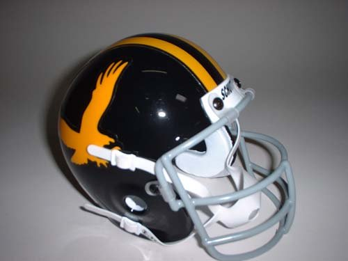 Schutt Iowa Hawkeyes (1972) Mini Throwback Football Helmet from