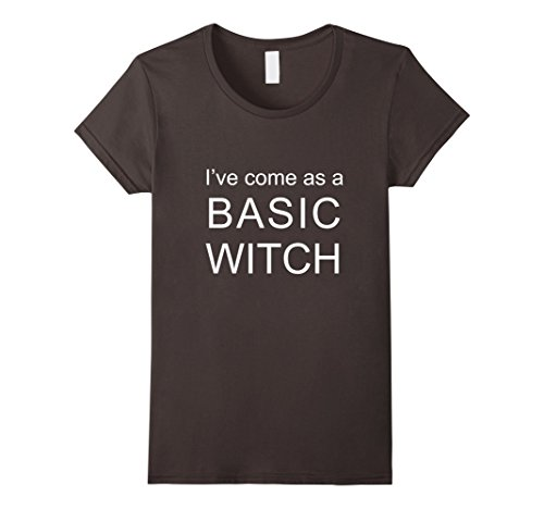 Womens Basic Witch Shirt. Halloween Costume T-Shirt Idea Small (Basic Halloween Costumes Ideas)