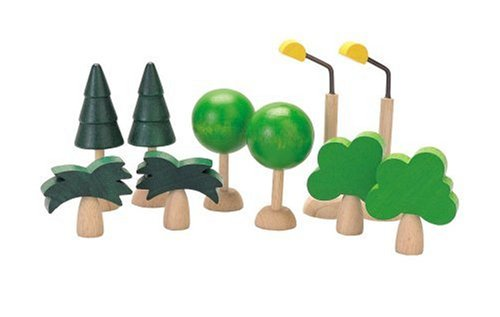 Plan Toys Set Of Trees and Light, Baby & Kids Zone