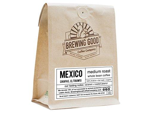 Mexico Oaxaca , Fresh , Organic , 12 oz Whole Bean Coffee - Fair Trade , Gourmet , Medium Roast