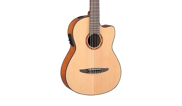 Yamaha ncx700 acústica eléctrica guitarra clásica: Amazon.es: Instrumentos musicales