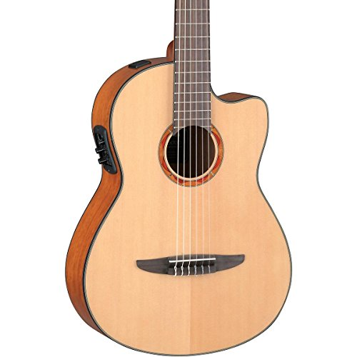 yamaha ncx700 acoustic electric classical guitar buy online in uae musical instruments. Black Bedroom Furniture Sets. Home Design Ideas