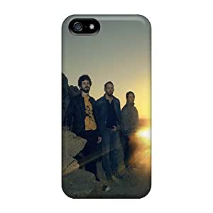 New Tpu Hard Case Premium Iphone 5/5s Skin Case Cover(linkin Park In The Sunset)