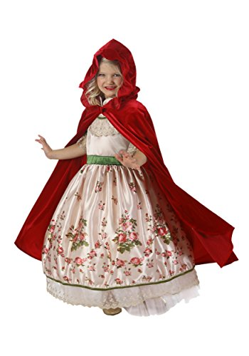 Princess Paradise Vintage Red Riding Hood Costume, Multicolor, Small/6 -