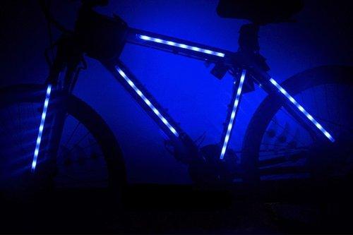 Viktion 2 Sets 14 LEDs Fahrrad RGB Lichte Strip Band led ...