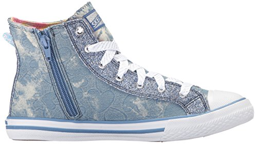 Skecher Street Women's Utopia Wing It Fashion Sneaker, Denim