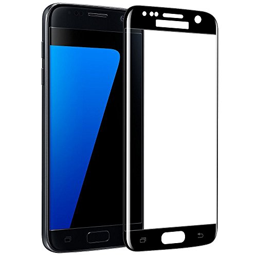 - YCFlying HD Galaxy S7 Edge Screen Protector, Full Screen Tempered Glass Screen Protector Film, Edge to Edge Protection Screen Cover Saver Guard for 3D 9H Hardness Galaxy S7 Edge