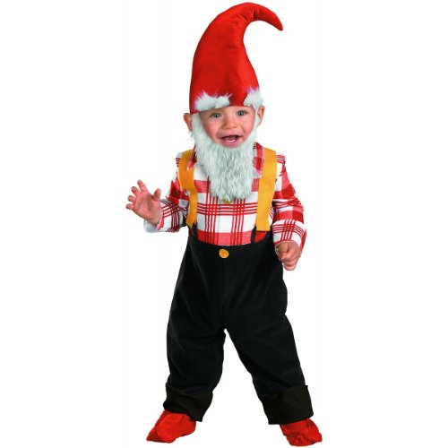 TOO CUTE TOO SPOOK Garden Gnome - Size: 2T