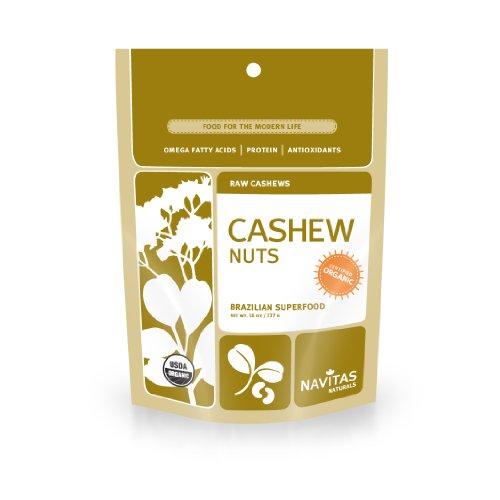 - Navitas Organics Cashews, 1 Pound Pouch (Pack of 2)