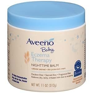 Aveeno Baby Eczema Therapy Nighttime Balm, 11 oz.