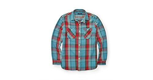 Polo Ralph Lauren PLRL_Men_TWLFLANN_Work_GRN_L (Medium, Blue/Red)