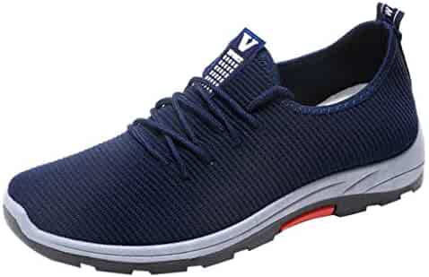 e5fef1bf4 Nomeni Sneakers Men Shoe Running Hiking Shoes Casual Shoe Mesh Breathable  Shoes
