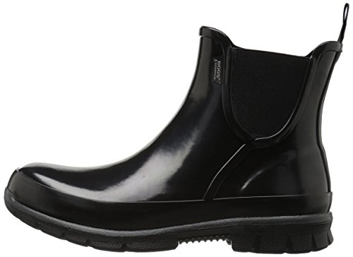 Womens Black Amanda On Rubber Slip Bogs Boots zaUqRf