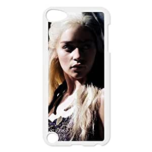 iPod Touch 5 Case White Game of Thrones Phone Case Cover Fashion Custom XPDSUNTR11391