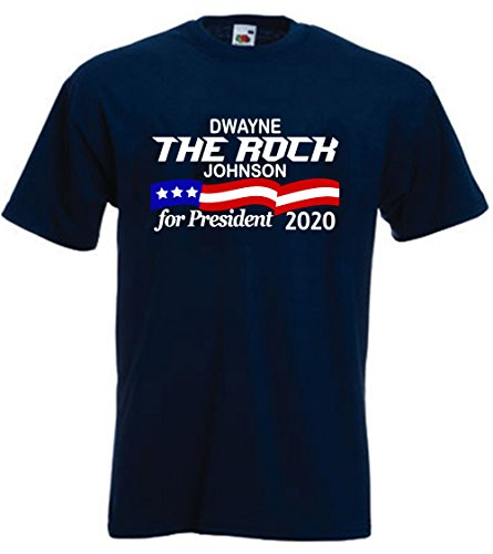 Silo Shirts NAVY Dwayne The Rock Johnson ''2020'' T-Shirt TODDLER 3T by Silo Shirts