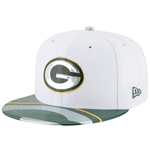 (NFL Green Bay Packers 2017 Draft On Stage 59Fifty Fitted Cap, Size 7 1/8, White )