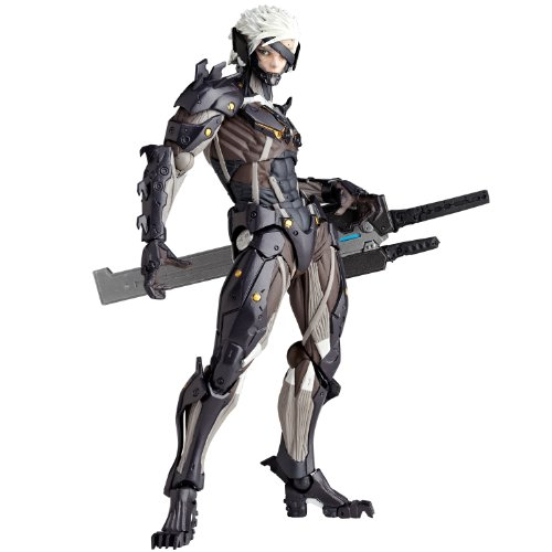 Kaiyodo Revoltech Yamaguchi #140: Metal Gear Rising: Revengence Raiden Action Figure
