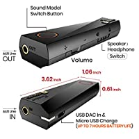 XPUMP Premium - Portable Surround USB DAC, 3D Audio External Sound Card for Headphone and Speakers. Compatible with Windows PC/Mac / PS4 / and Other Consoles from Embrace Audio Lab Inc.