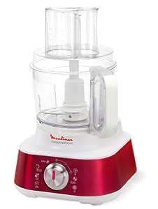 Moulinex masterchef 8000 1000w 3l rojo color blanco robot de cocina 3 l rojo blanco - Robot cocina masterchef ...