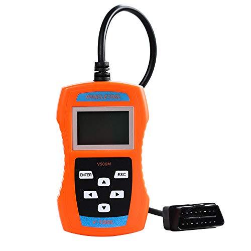 VEHICLETOOL VW/AUDI/SEAT/SKODA Code Reader V-A-G 506M Support TP-CAN and New UDS Protocol (Com Vag Scanner)