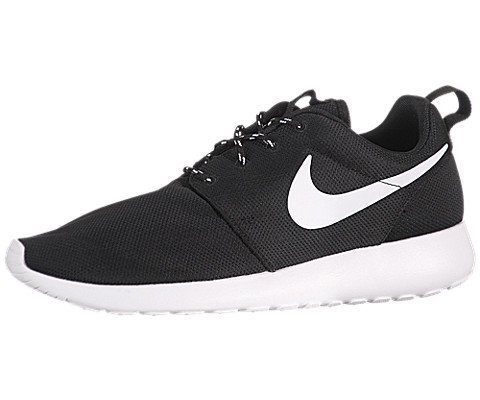 ebecf4428730a Nike Women s Rosherun Black White Volt Running Shoe 8.5 Women US - Buy  Online in Oman.
