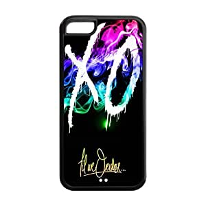 5C Phone Cases, XO The Weeknd Hard TPU Rubber Cover Case for iPhone 5C
