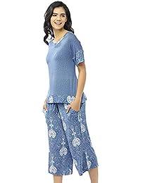 bd2940e09 Summer Pajamas for Women - Stylish Print Ladies Pajama Set