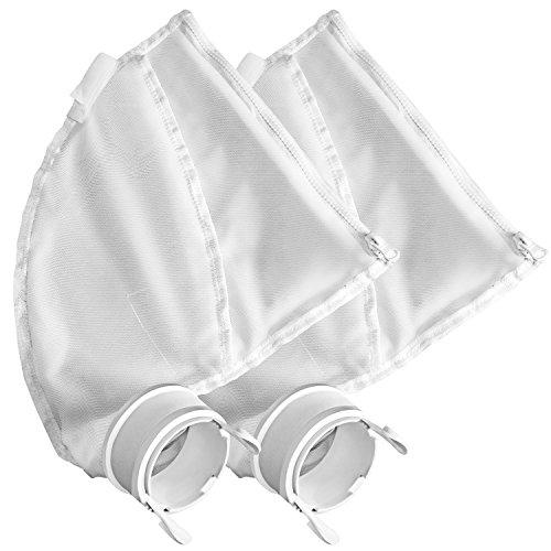 SuMile 2 Pack All Purpose Bags for Polaris 280, 480 Bags 280 Polaris Bag Pool Cleaner Filter Zipper Bags K13 K16 Vac-Sweep Replacement Bags