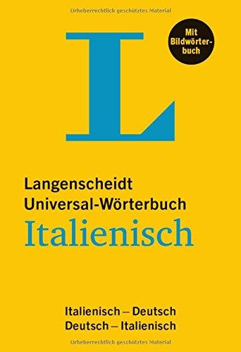 Langenscheidt Universal-Wörterbuch Italienisch - mit Bildwörterbuch ...