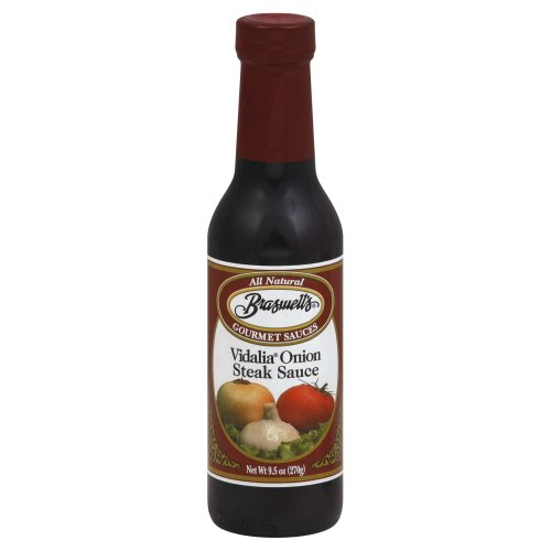 Vidalia Steak Sauce (Braswell's Vidalia Onion Steak Sauce 9.5 Oz (Pack of 2))