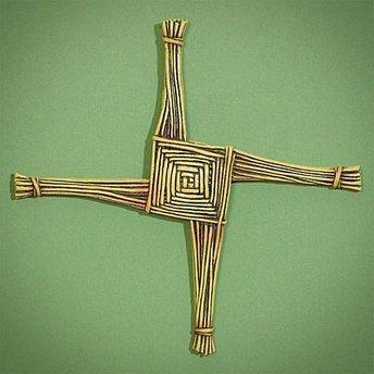 Religious Supply St. Brigid's Wall Cross