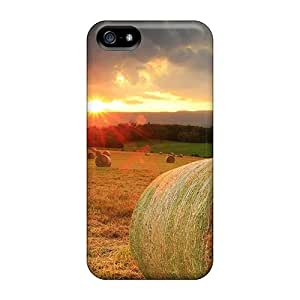 Iphone 5/5s Case Cover Hay Bales Case - Eco-friendly Packaging