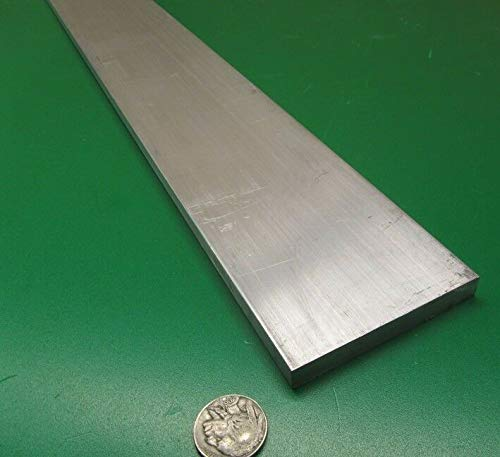 JumpingBolt 6061 T651 Aluminum Bar, 5/16'' (.312'') Thick x 3.0'' Wide x 36'' Length Material May Have Surface Scratches