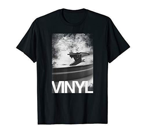 Vinyl Records Music Lover T-Shirt (Vinyl Records Player Bose)
