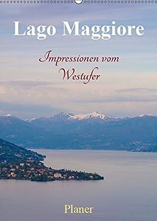 Lago Maggiore Karte Mit Orten.Lago Maggiore Impressionen Vom Westufer Wandkalender 2019 Din A2