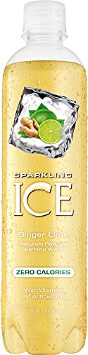 Sparkling Ice Ginger Lime, 17 Ounce Bottles (12 Count)