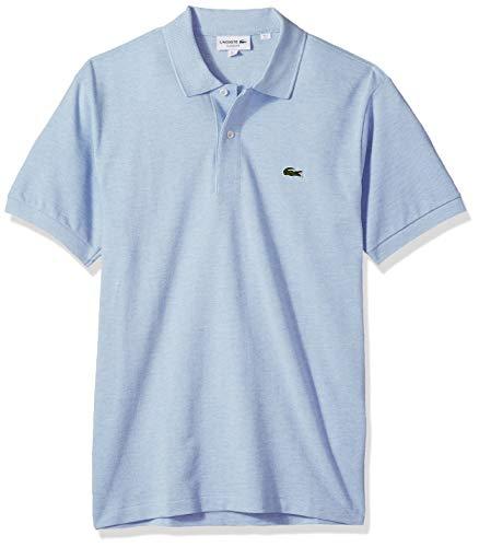 Lacoste Mens Classic Chine Pique Polo Shirt, Lutea, Large ()