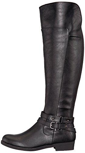 LifeStride Women's Delilah Equestrian Boot, Black, 7.5 M US by LifeStride (Image #5)