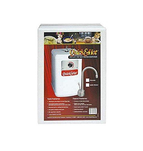 Waste King H710-U-SN Coronado Hot Water Faucet with Tank, Satin Nickel by Waste King B001KOCV0C  サテンニッケル