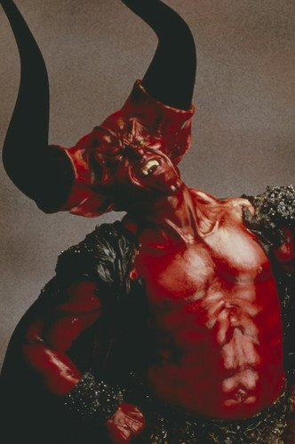 Tim Curry in Legend as Darkness with devil horns 24x36