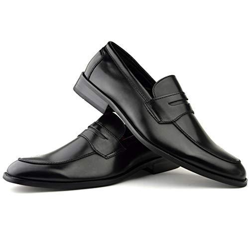 Numero 7 8 Scarpe Uomo Black Marrone Da 6 Di Color O Formale Fibbia Inglese 9 Stile 11 Informale Con 10 Z6PwZ