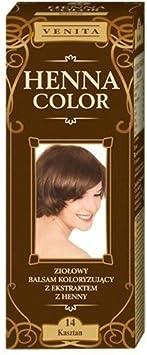 Henna color 14con castaños pelo Bálsamo efecto Color del pelo Color Natural-Tinte para el cabello Gallina Certificado