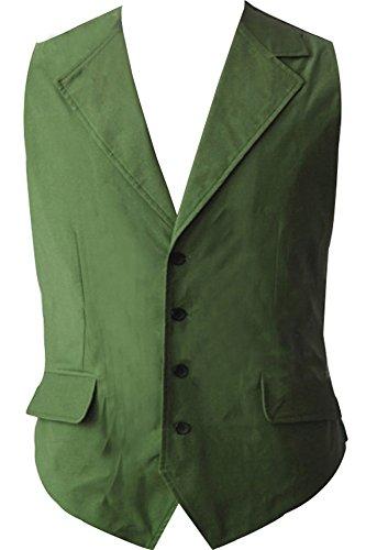 Fangcos Dark Knight Joker Costume Vest (Green Joker Costume)