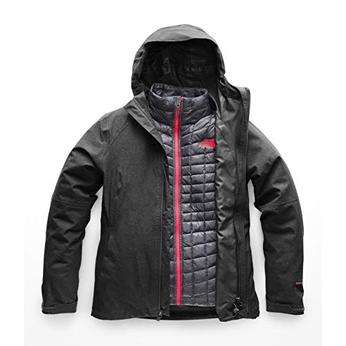 The North Face Women's Thermoball¿ Triclimate¿ Jacket TNF Dark Grey Heather Medium (Insulated The Face North Coat)