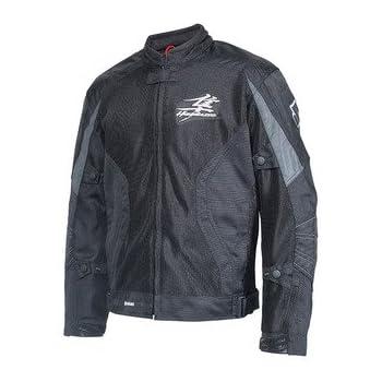 Amazon.com: Suzuki Hayabusa Mesh Riding Jacket Black XXX ...