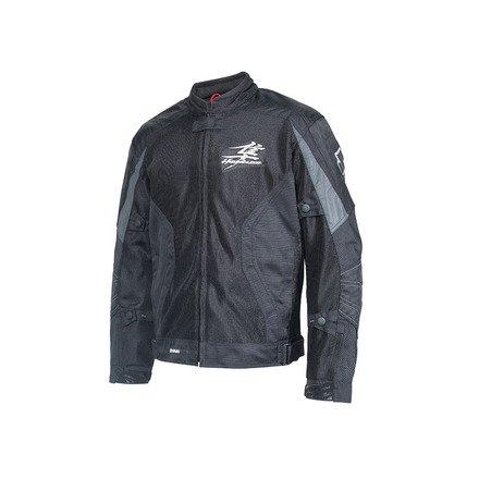 Suzuki Hayabusa Mesh Riding Jacket Black XXX-Large - 3XL (Suzuki Hayabusa Jacket)